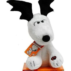Peanuts Animated Snoopy with Ear Flapping Bat Wing